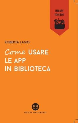 Come usare le app in biblioteca