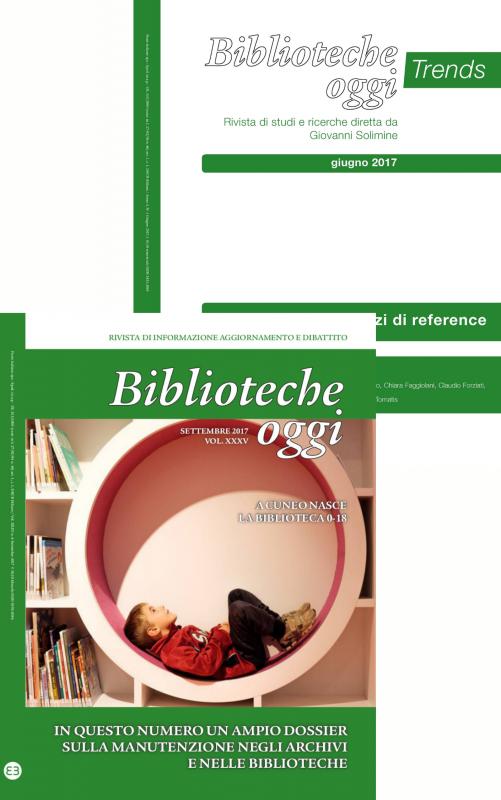 Biblioteche oggi - Annata 2017