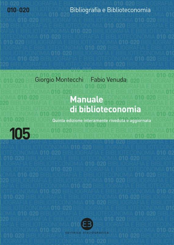 Manuale di biblioteconomia