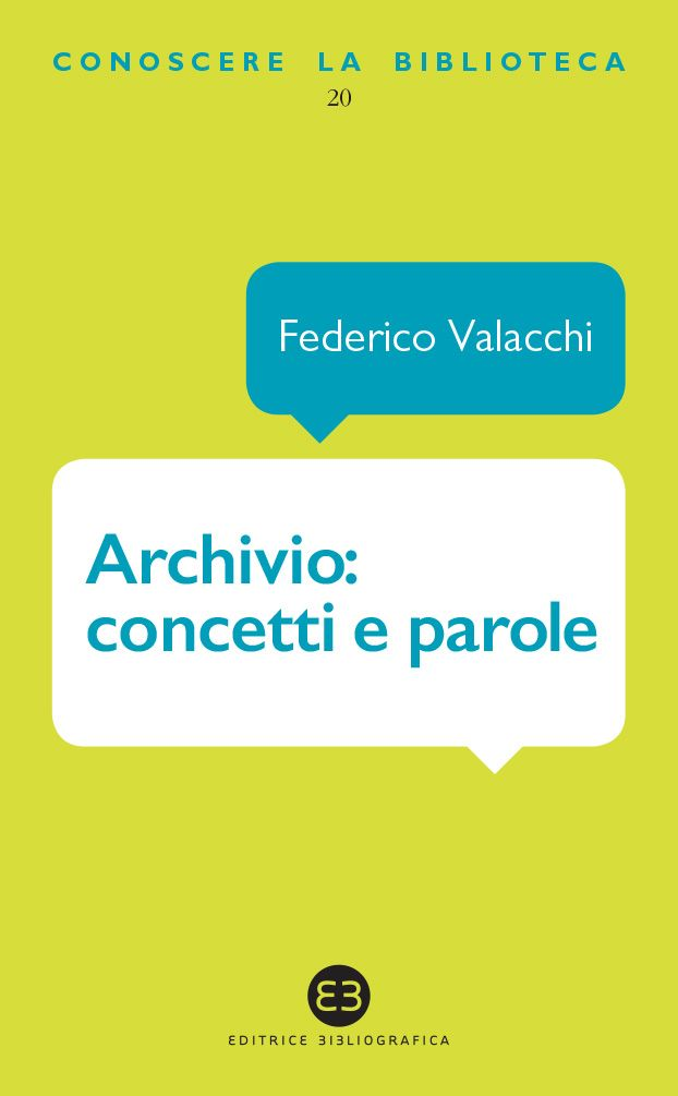 Archivio: concetti e parole