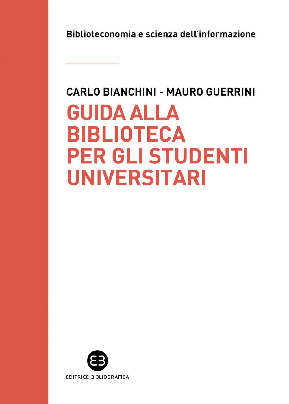 Guida alla biblioteca per gli studenti universitari